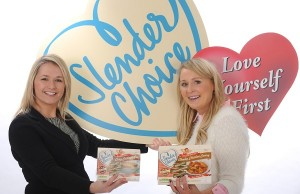 Emma Armer from the Henderson Group celebrates an exclusive deal with Karen Daly of Slender Choice