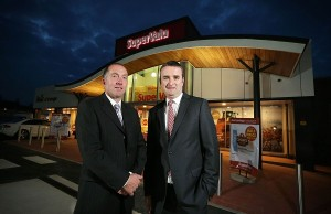 Pictured with Gabriel Bell is MRPNI acting managing director Damian McCarney