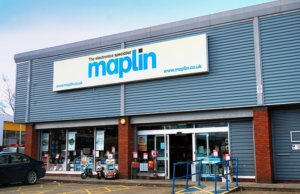 Toys 'R' Us and Maplin administration