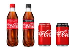 Coke Zero gets red Coca Cola packaging