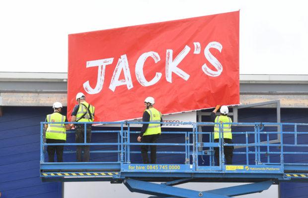 Jack's storefront.