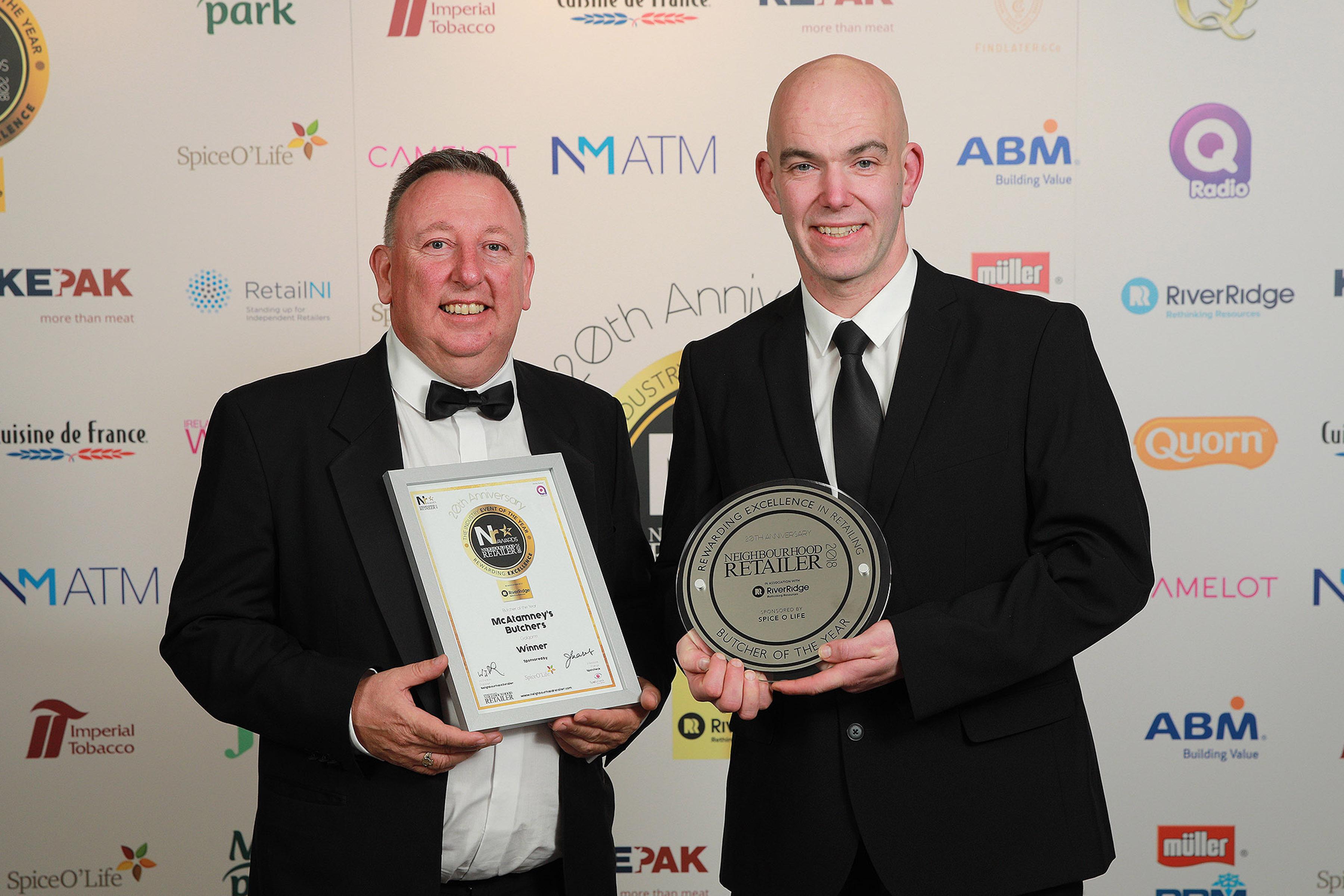 Neighbourhood Retailer Awards - Butcher winner