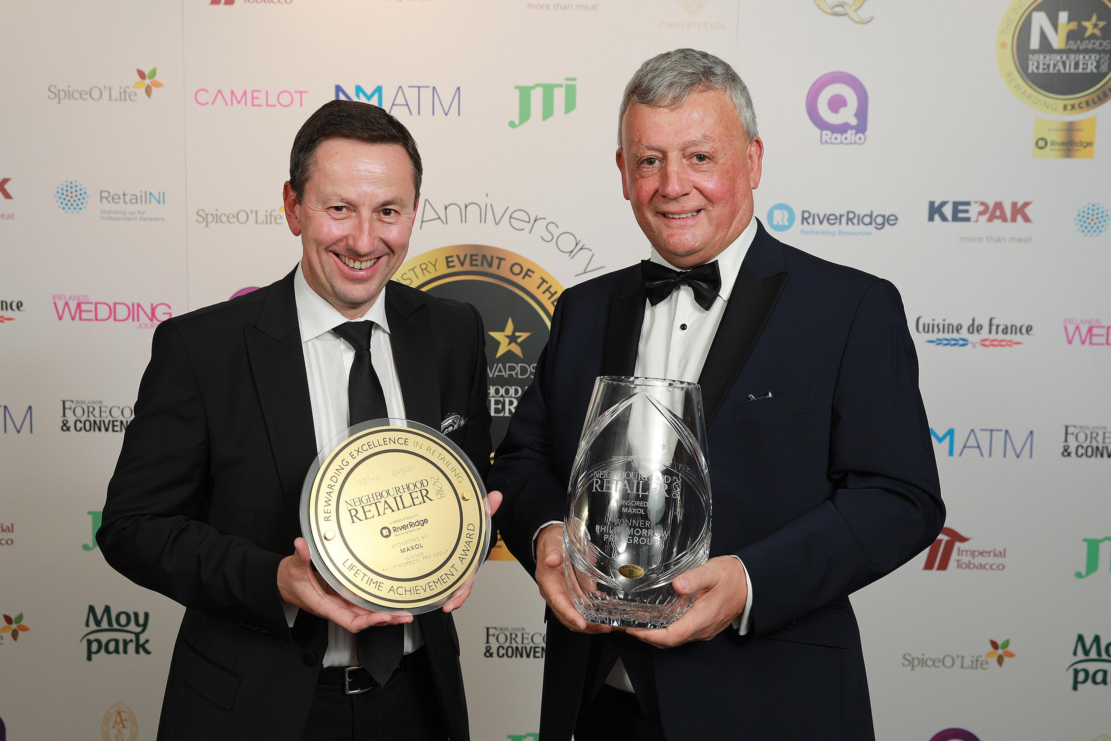 Neighbourhood Retailer Awards 2018 lifetime Achievement winner