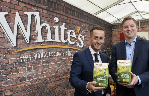 White's Oats recyclable packaging