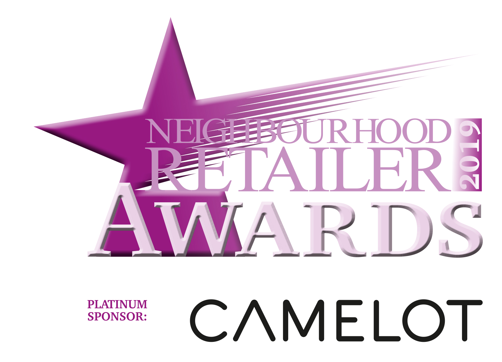 Camelot Platinum Sponsor Neighbourhood Retailer Awards