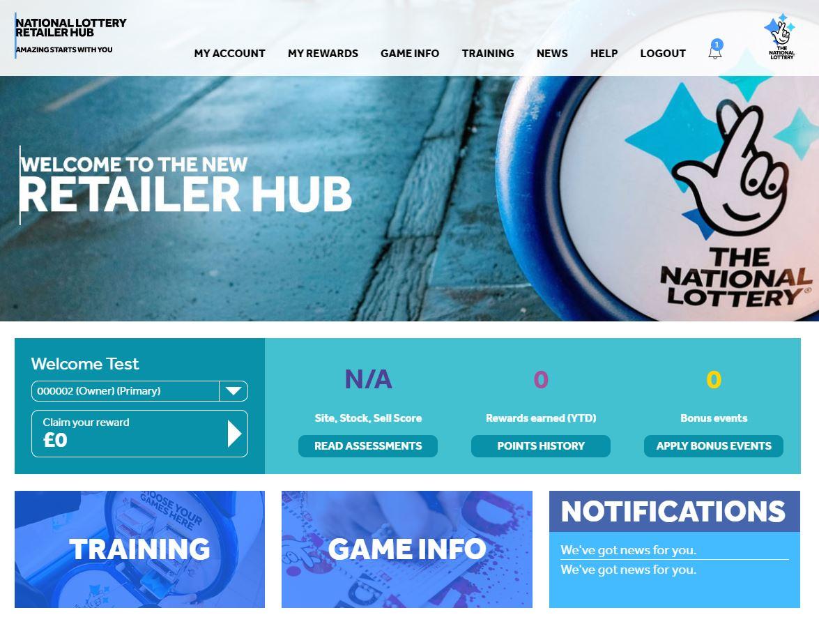 National Lottery Retail Hub 2