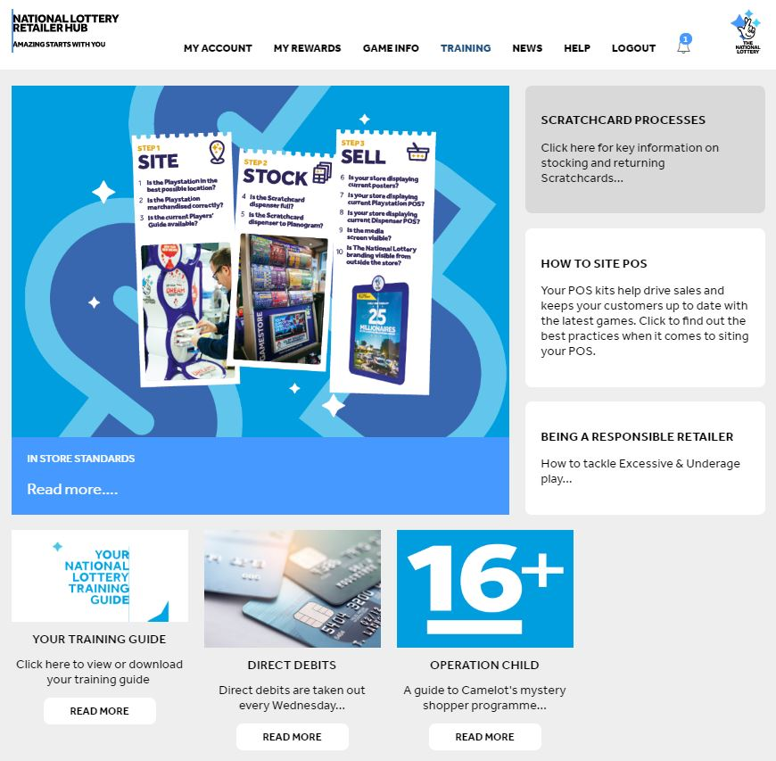 National Lottery Retail Hub 3