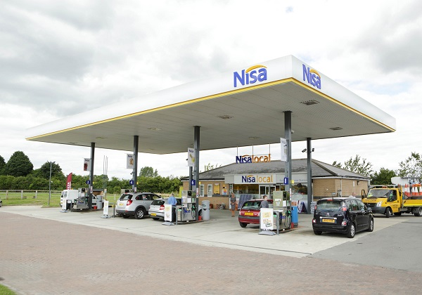 Nisa, forecourt, fuel, retail