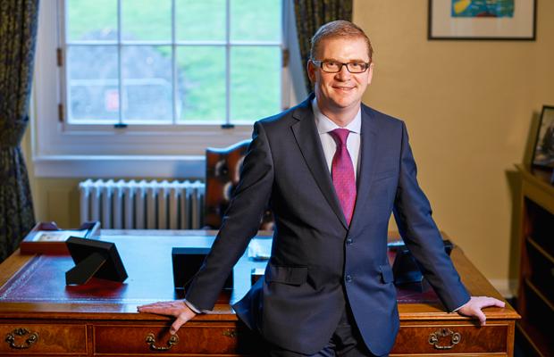 Finance Minister, Simon Hamilton