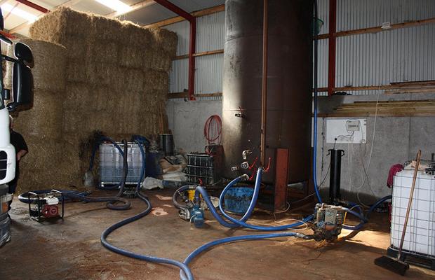 HMRC Raid Illicit Fuel Plant