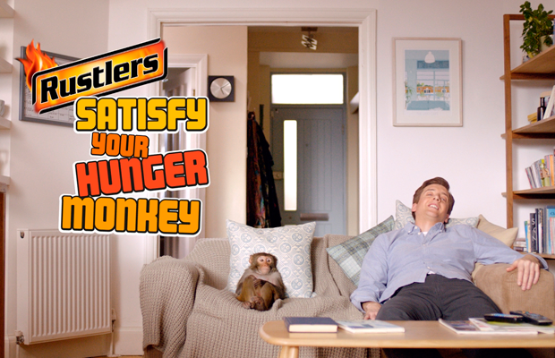 TV campaign for Rustlers