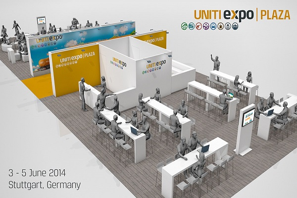 'Plaza' Is Centre Of Attention At UNITI Expo