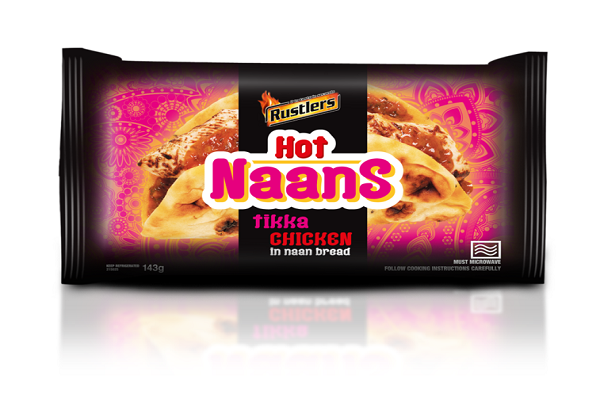 Rustlers Tikka Chicken Hot Naan