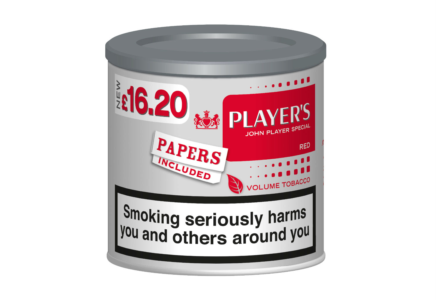 Imperial Tobacco announces Player's Red Volume Tobacco