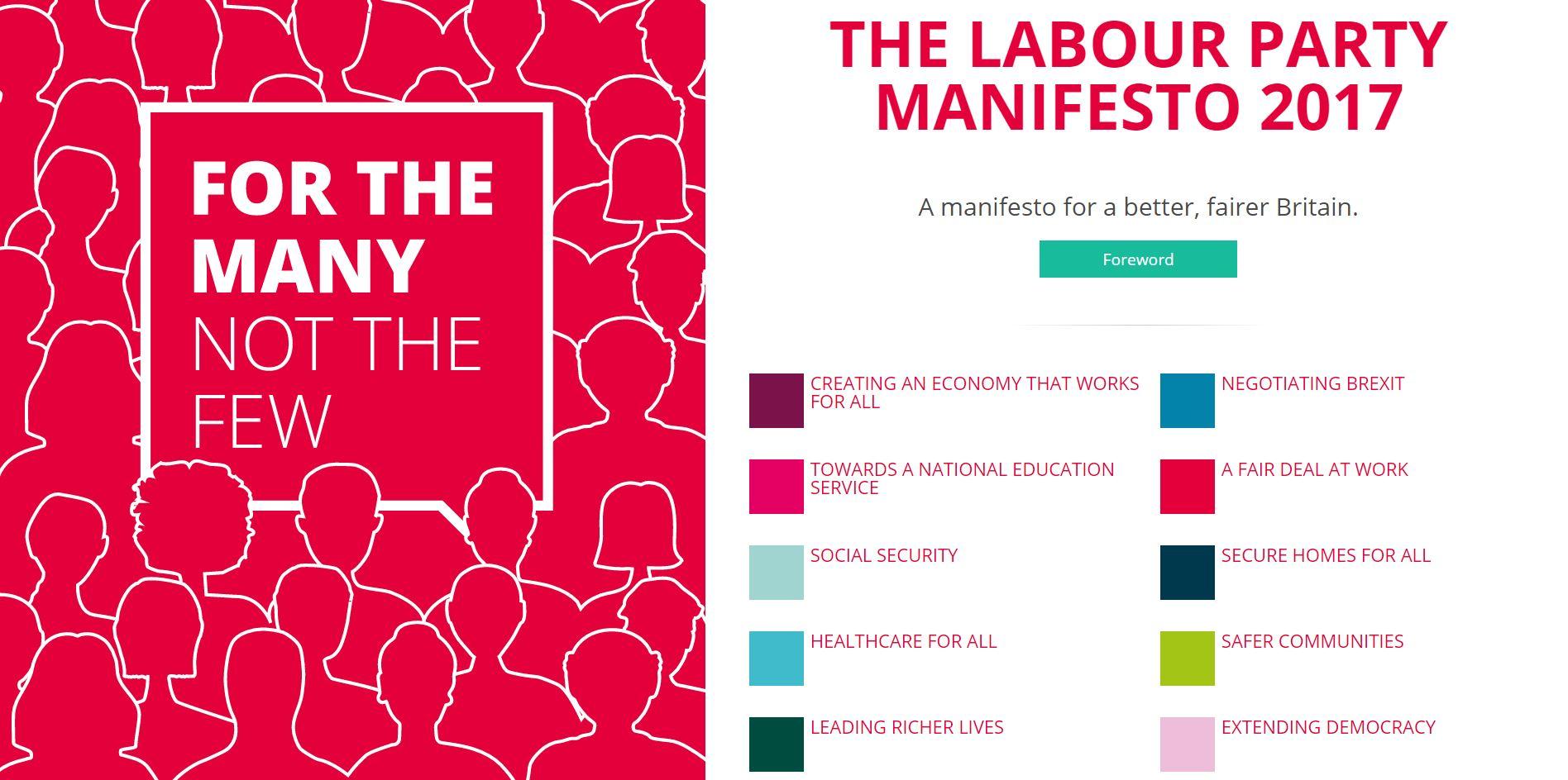 Labour manifesto 'positive' despite £10 wage promise
