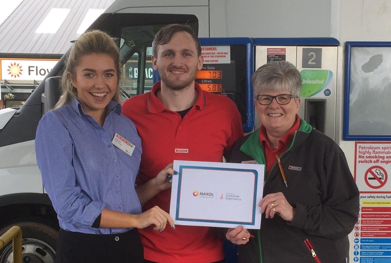Dungannon Maxol wins customer service accolade