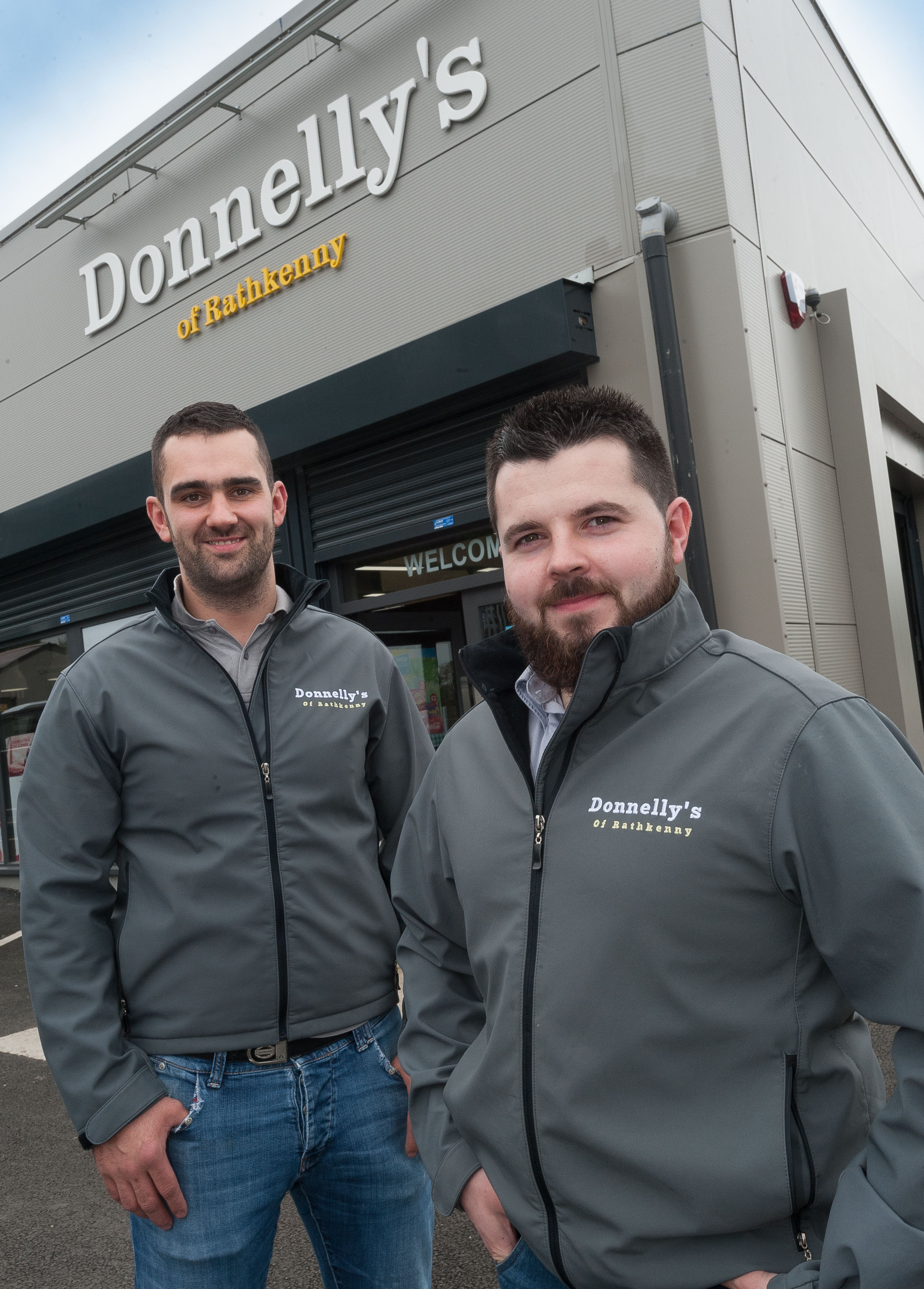 Ballymena brothers unveil state of the art store