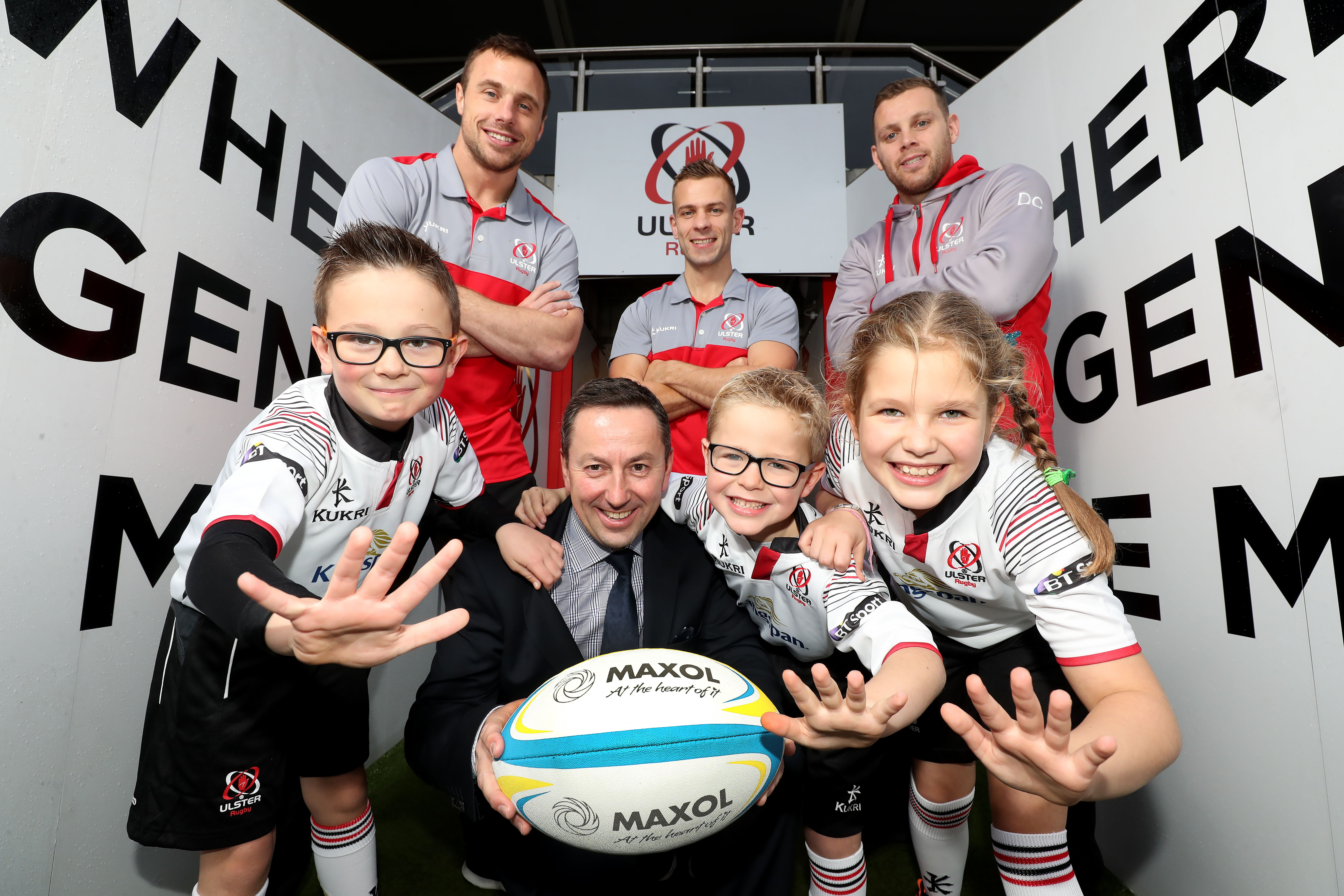 Maxol renew sponsorship of Ulster Mini Rugby