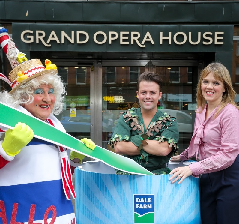 Panto off to flying start thanks to Dale Farm