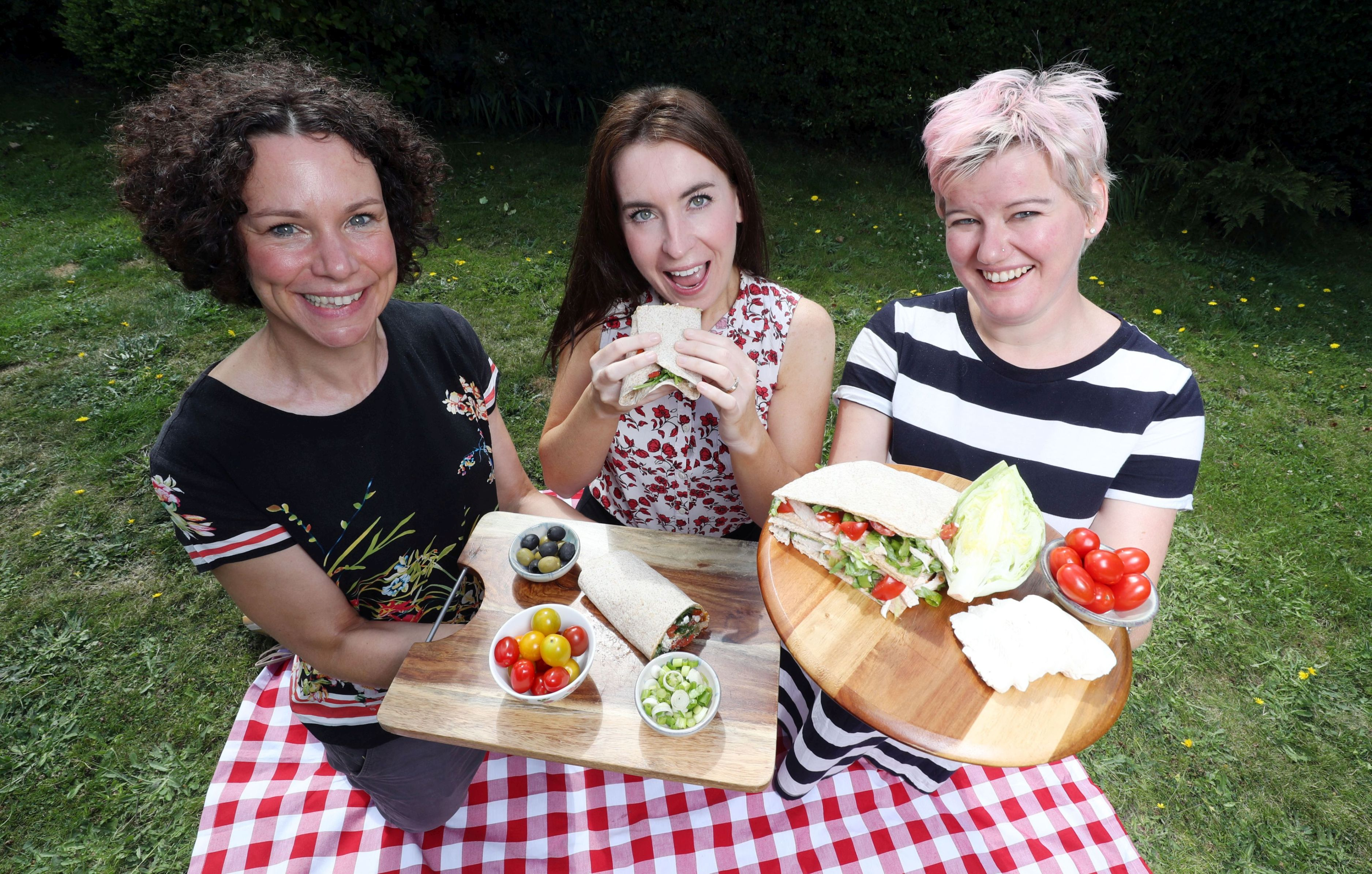 It's a wrap – but which one should win healthy lunch off crown?