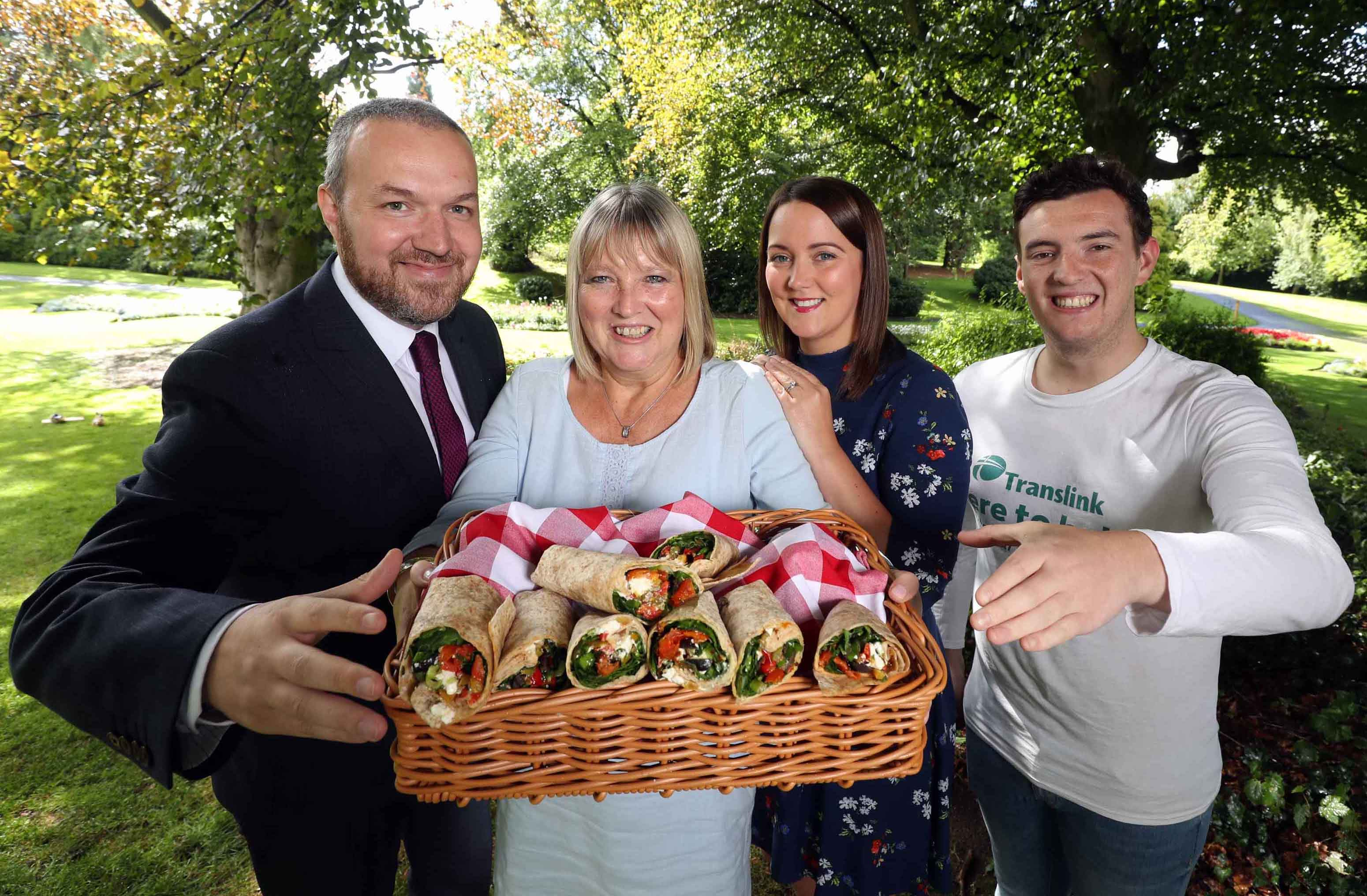 All wrapped up – Antrim woman wins top prize in healthy lunch off