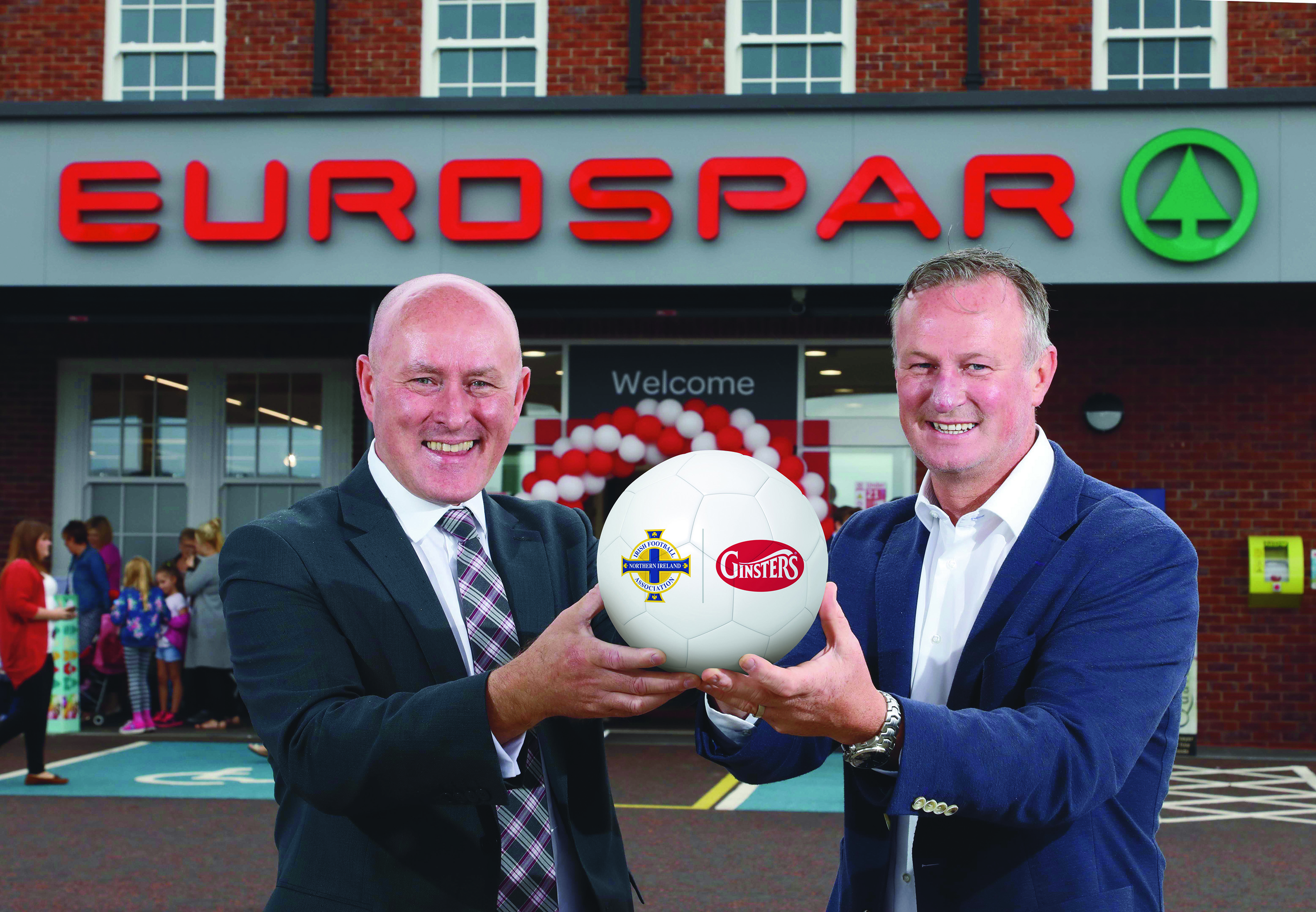 Ginsters Sign New Partnership with Irish FA
