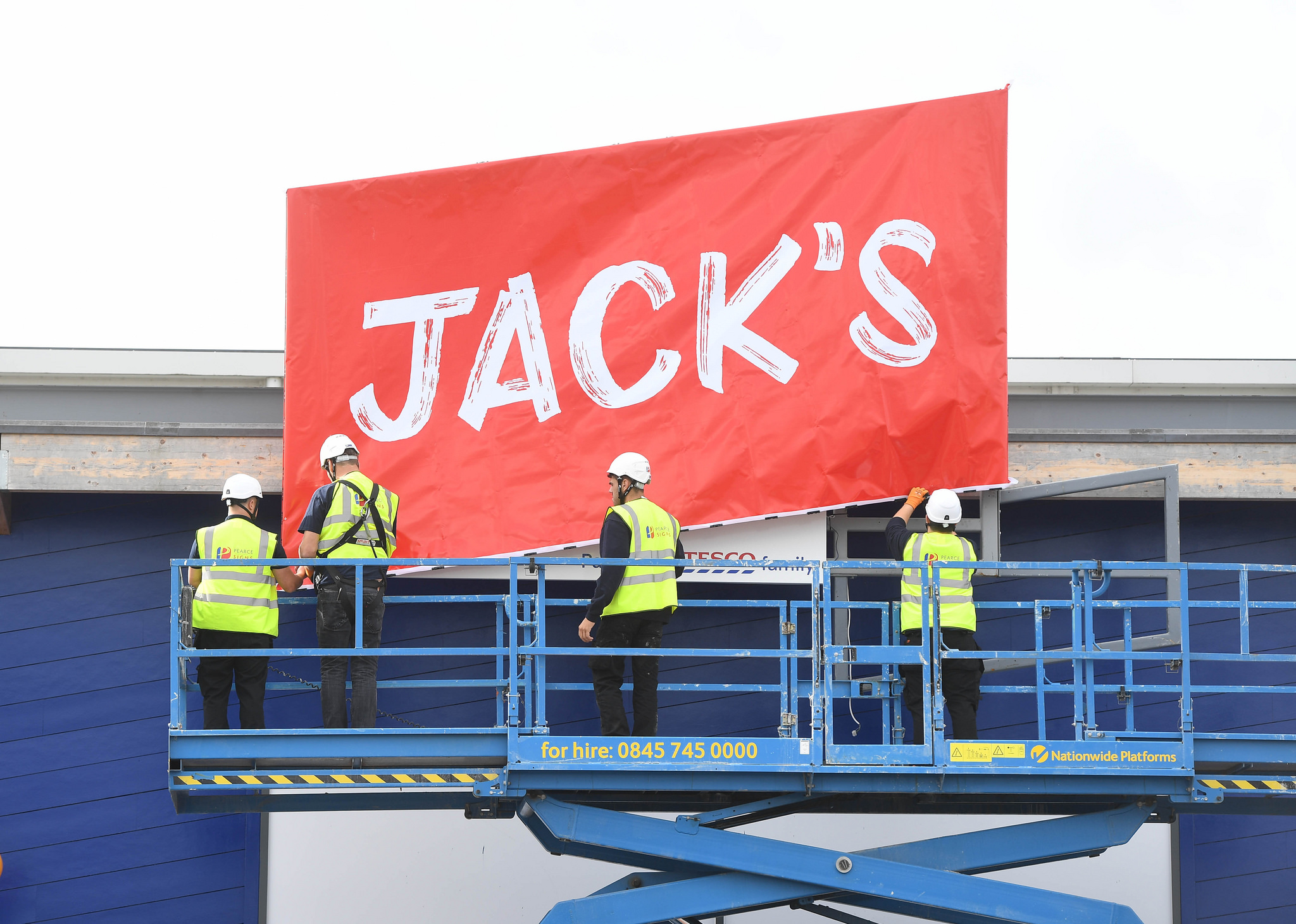 Jack's customers jumping for joy?