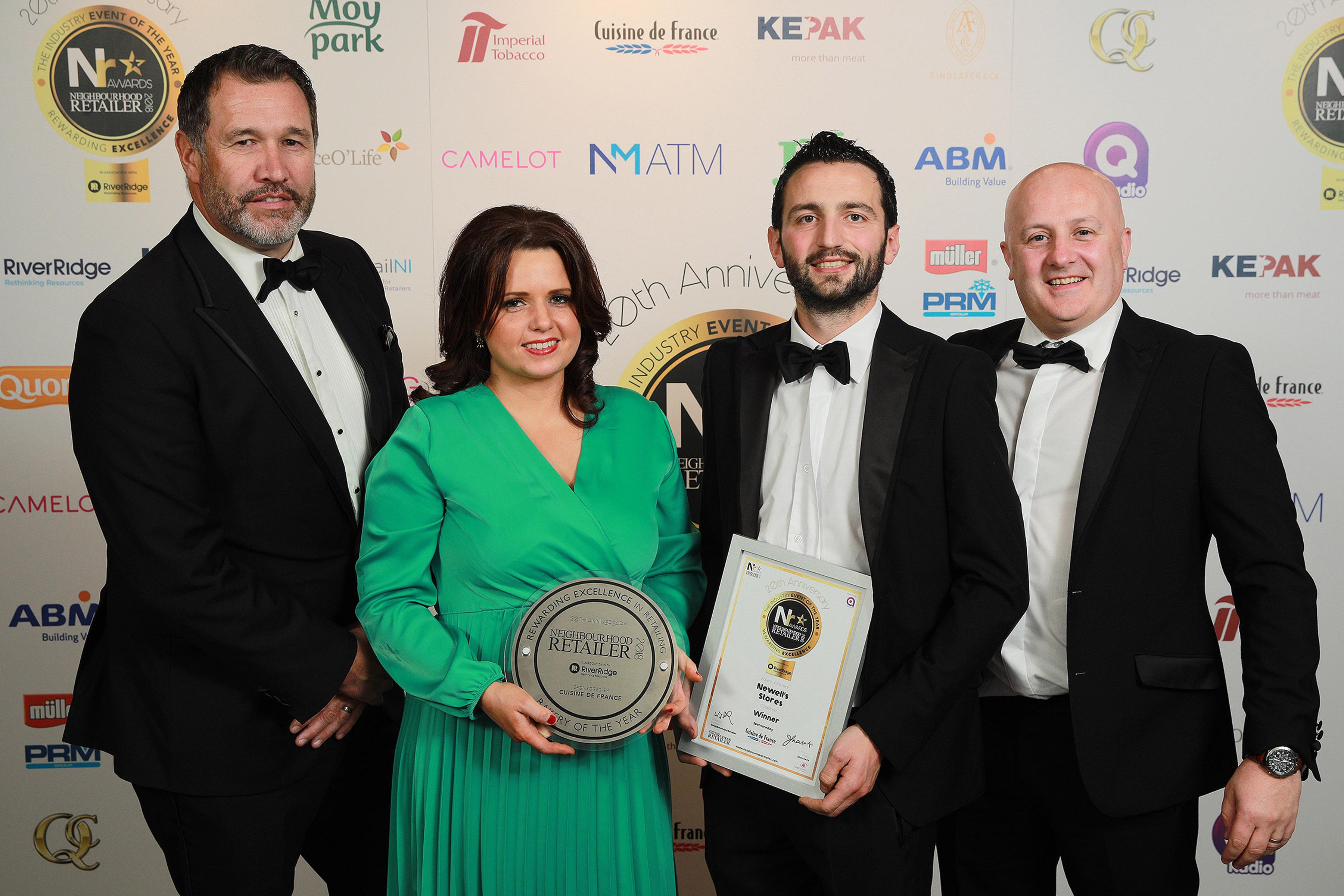 Neighbourhood Retailer Awards 2018 - bakery winner