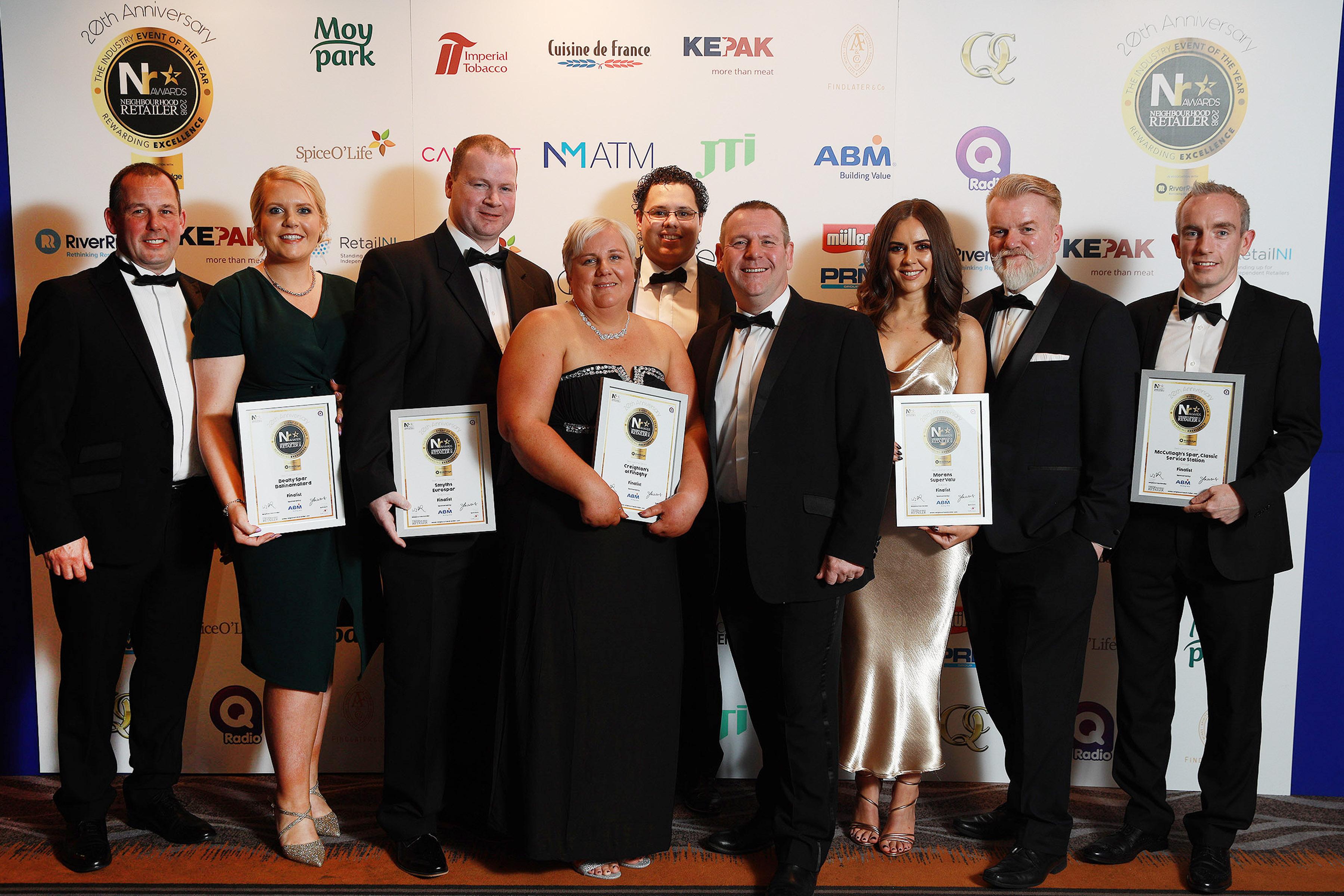 Neighbourhood Retailer Awards 2018 - Best Customer Service Finalists