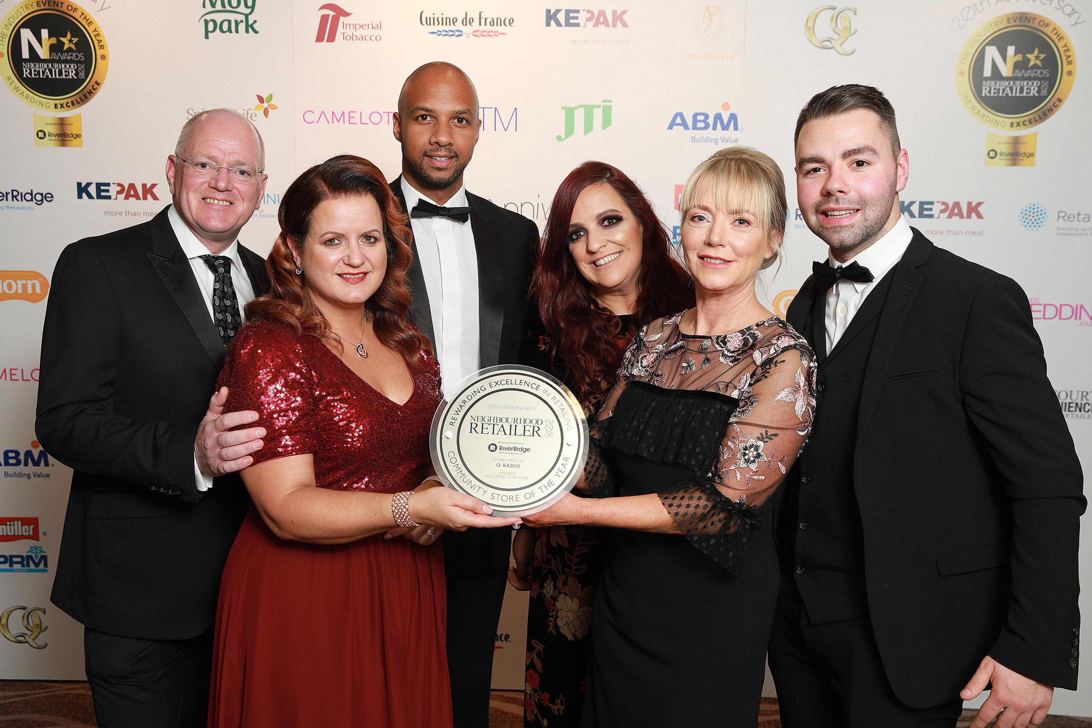 Neighbourhood Retailer Awards 2018 Community Store of the Year winner