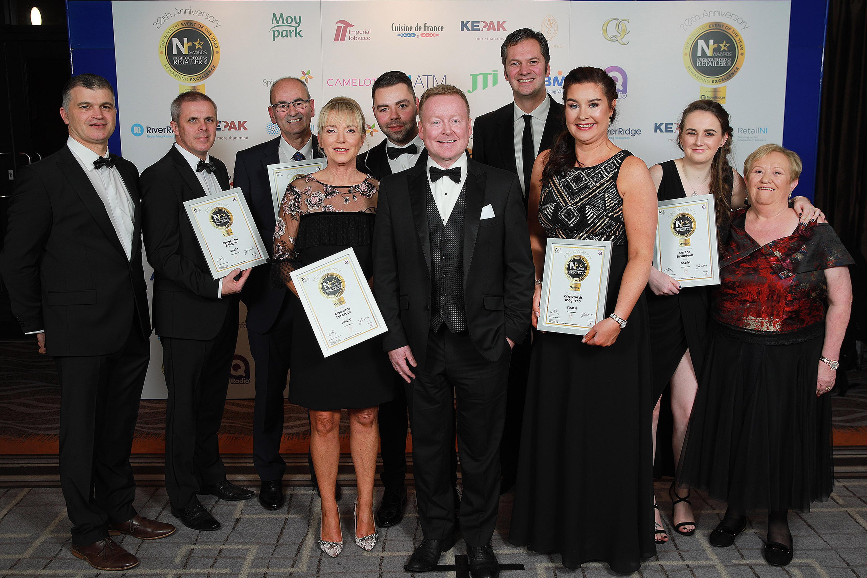 Neighbourhood Retailer Awards 2018 - Off Licence finalists
