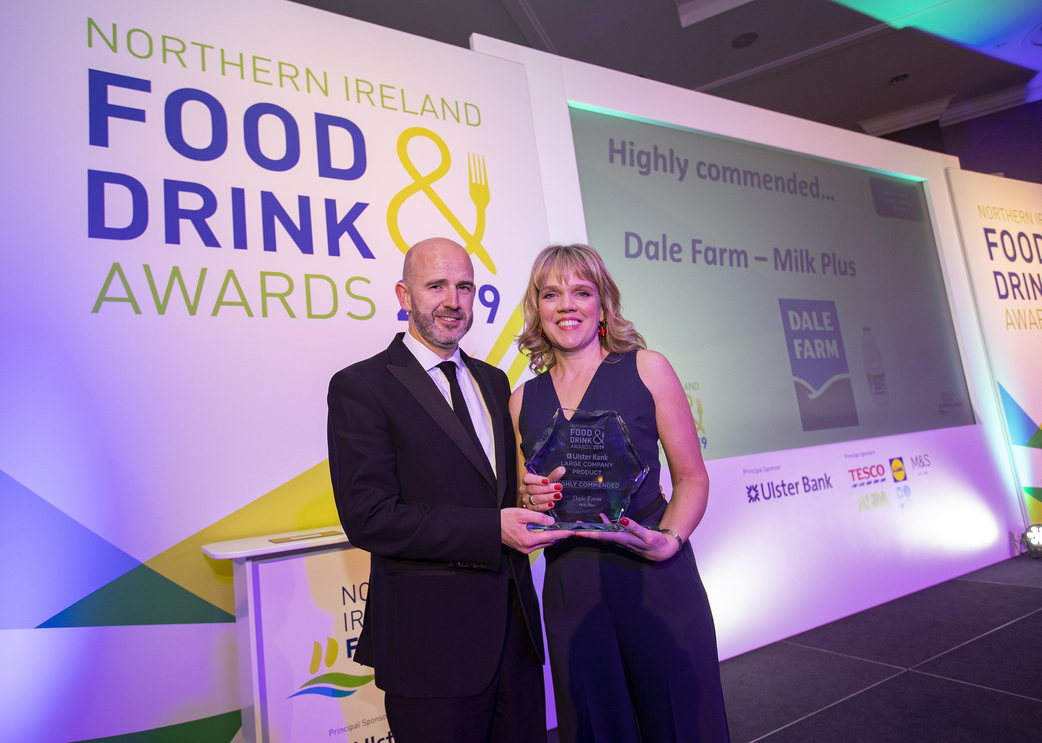 Dale Farm recognised in 2019 NIFDA Awards