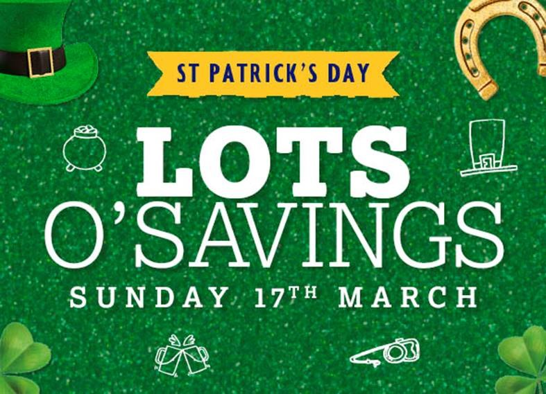 Nisa launches new savings ahead of St Patricks Day