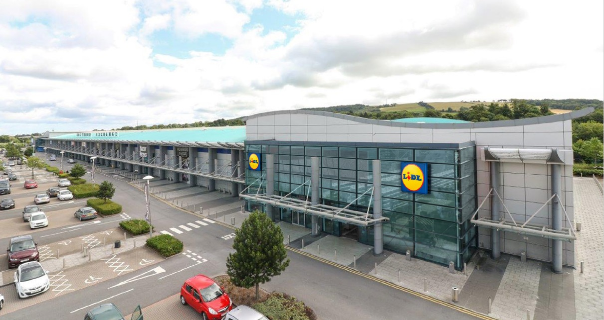 Plans for new Lidl store at Holywood Exchange