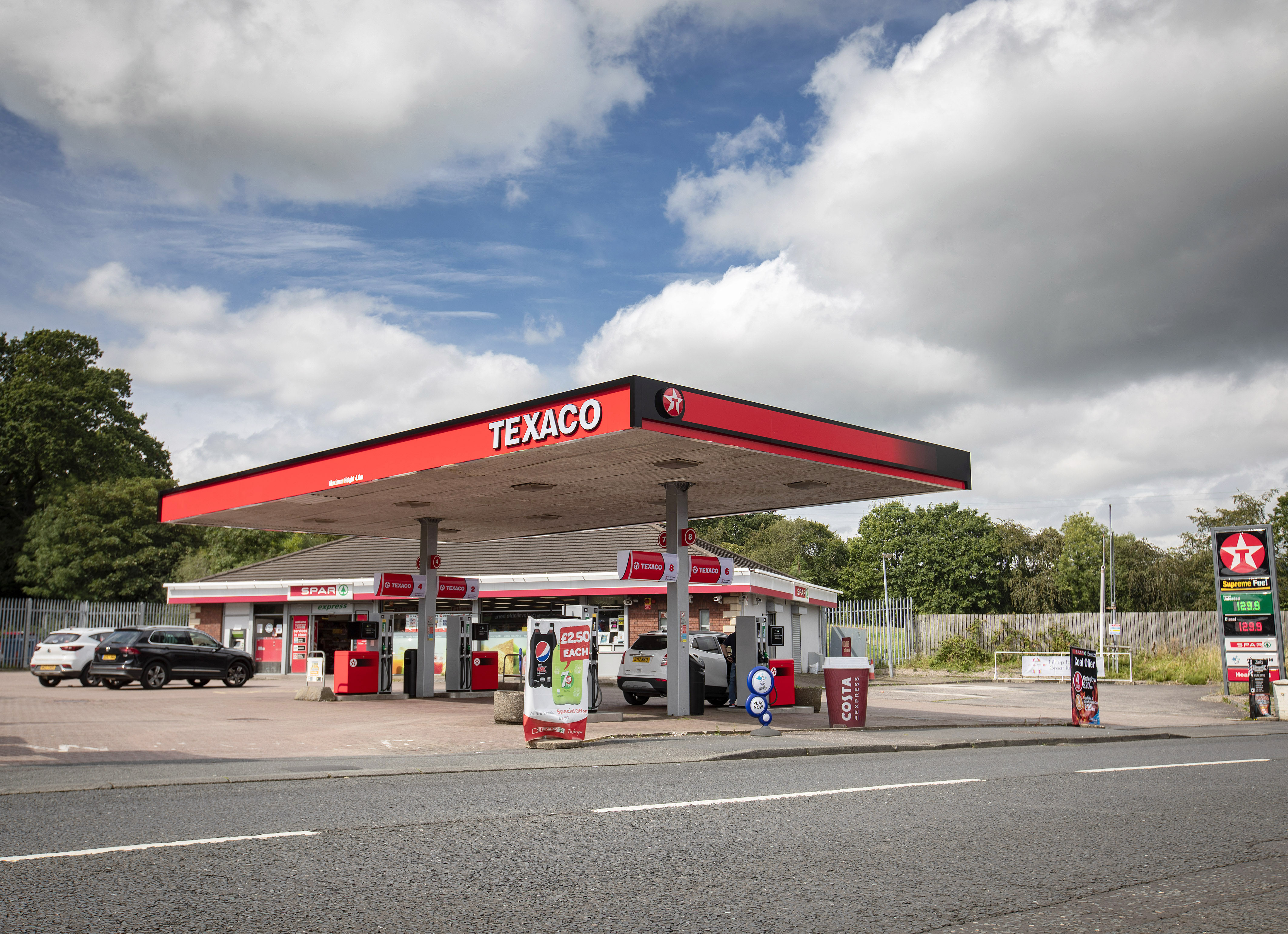 Texaco scoop up a further two more sites in Northern Ireland
