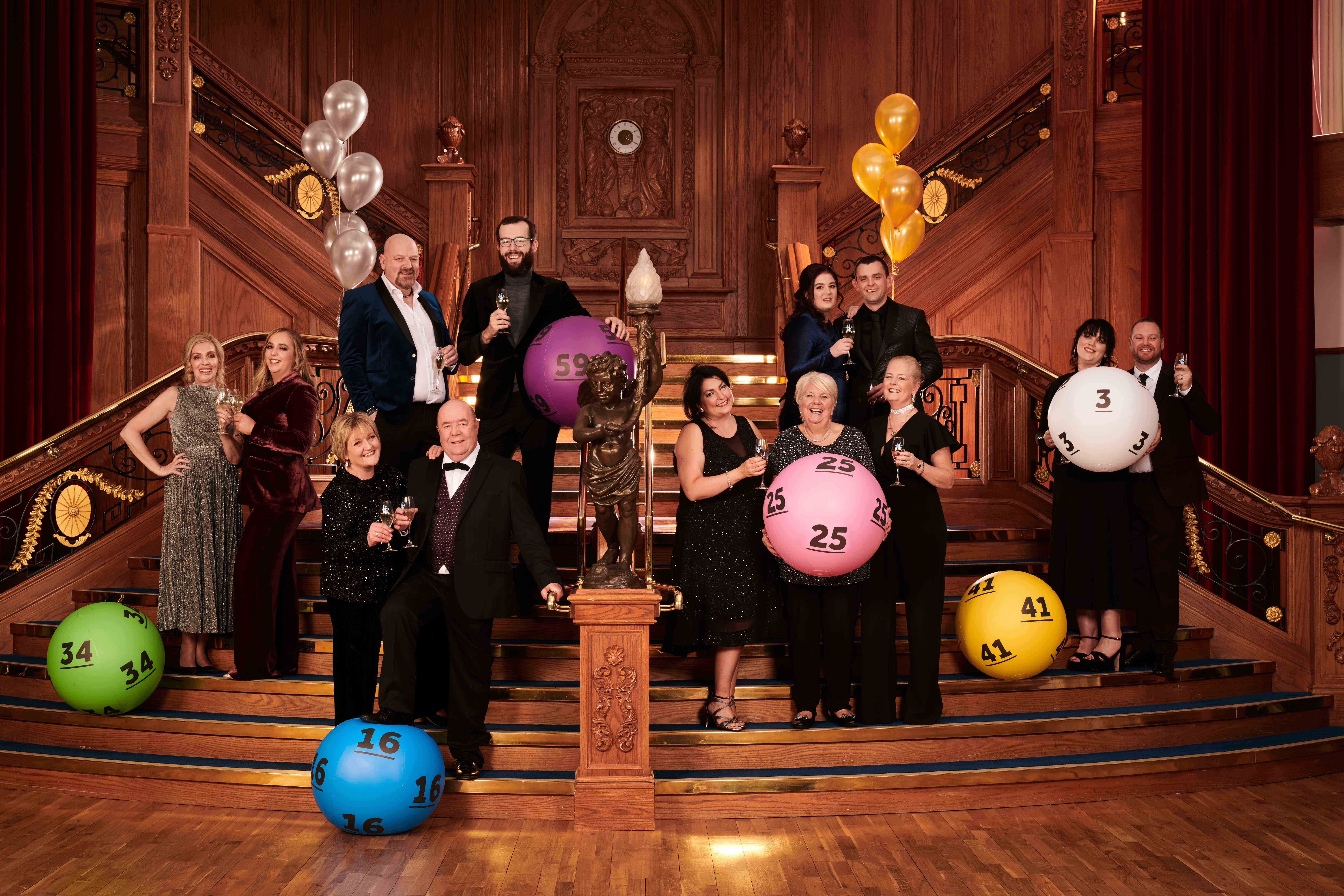 Winners celebrate 25 Years of National Lottery in NI