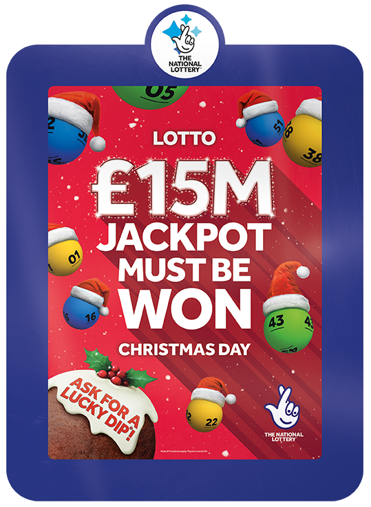 Festive boost for National Lottery retailers