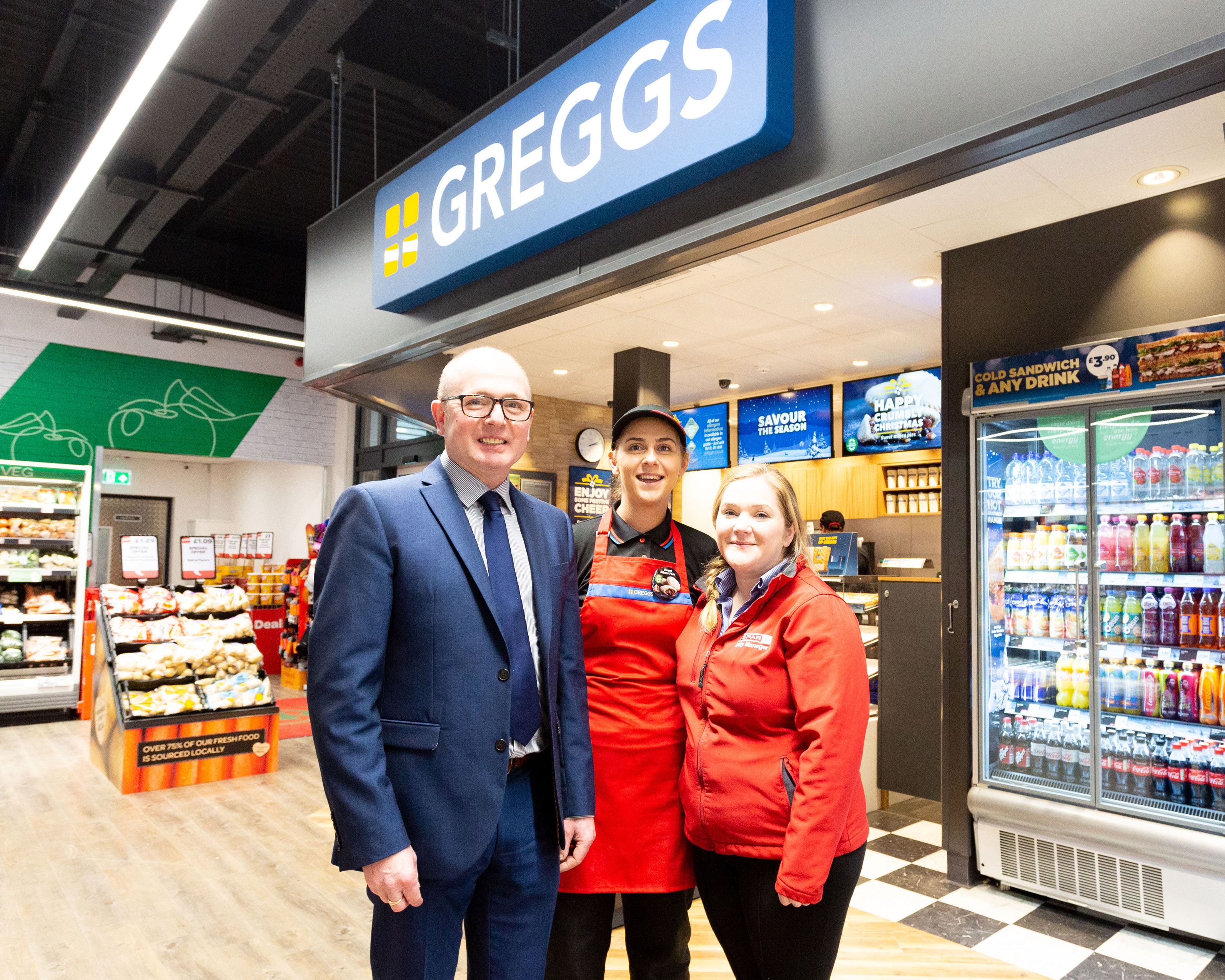 Henderson Retail partners with Greggs to open first shop within SPAR NI store