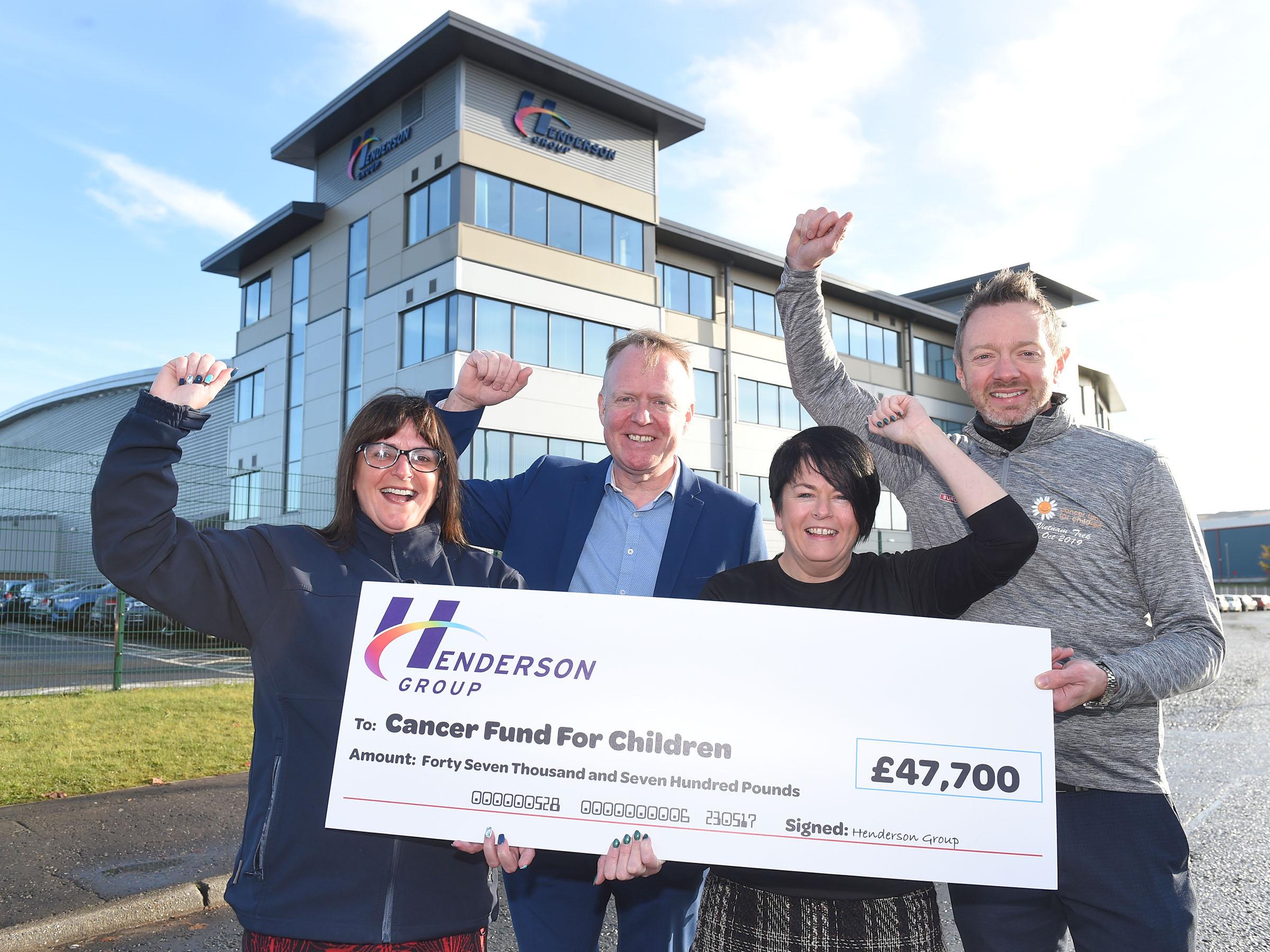 Team trek raises £47k for local cancer charity