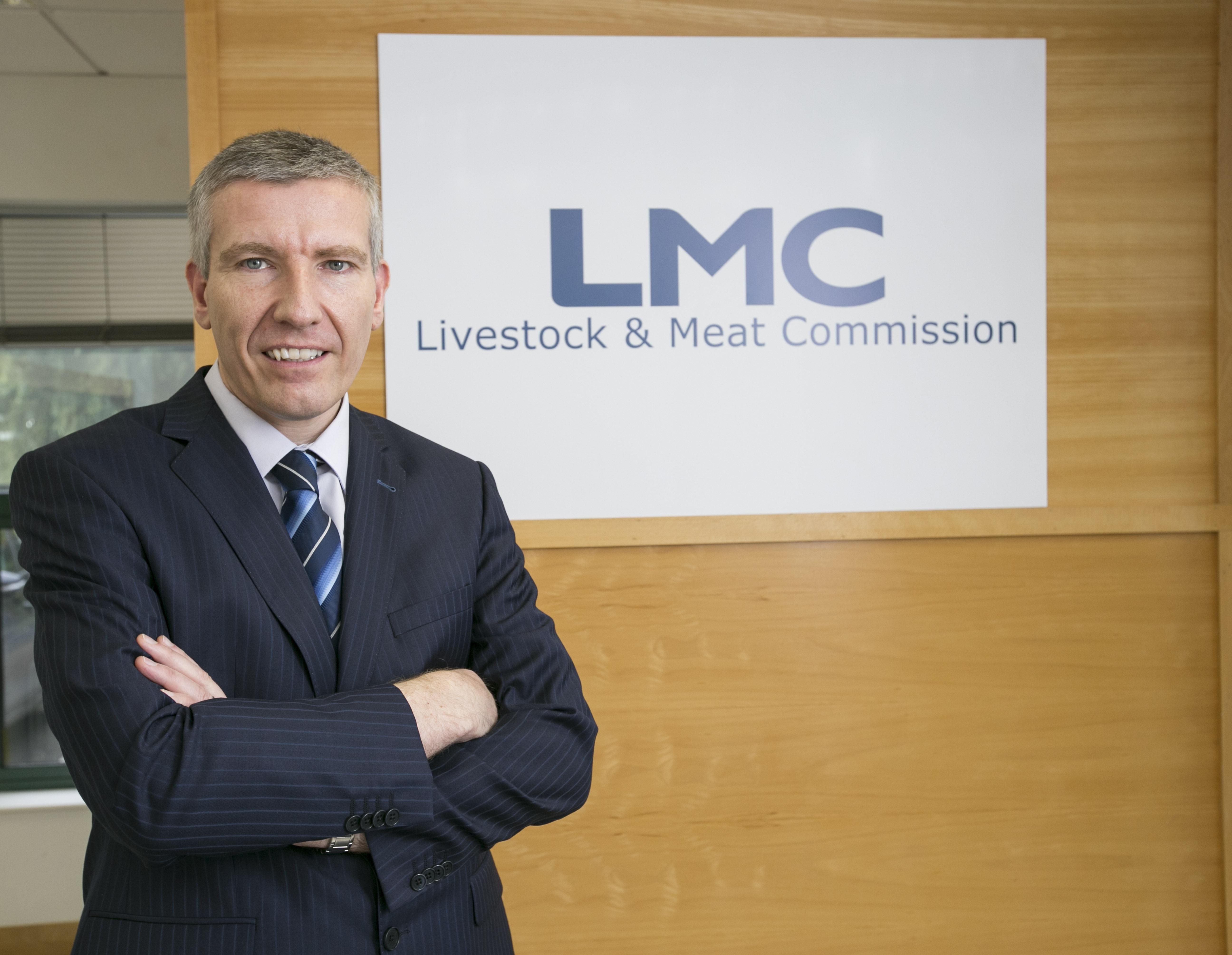 Ian Stevenson, chief executive, Livestock & Meat Commission
