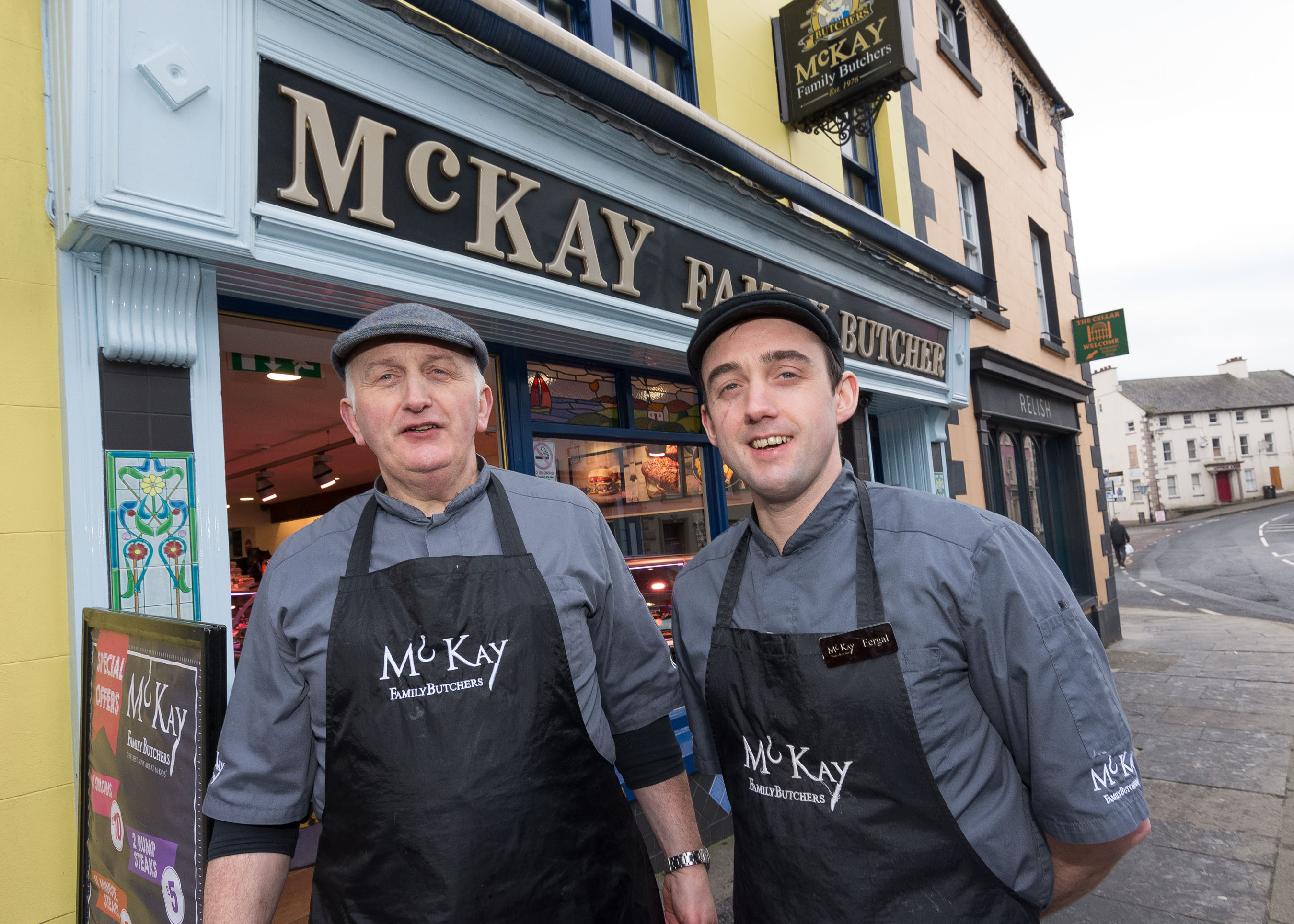 The personal touch wows customers at McKay Family Butchers