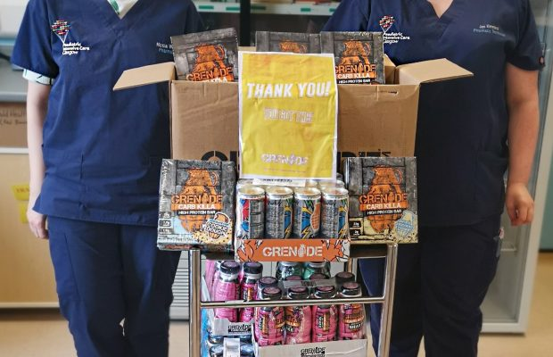 Grenade® salutes the NHS with 250,000 product donation