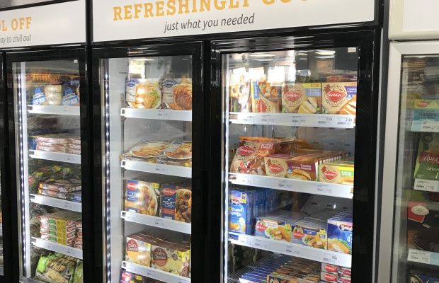 Improvements in frozen range boosts sales