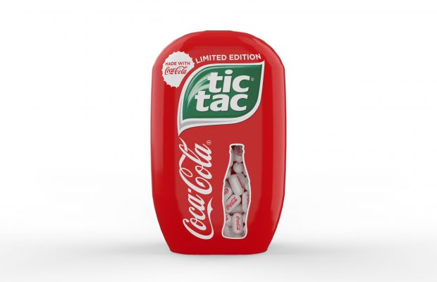 An encounter of two icons: Tic Tac meets Coca-Cola