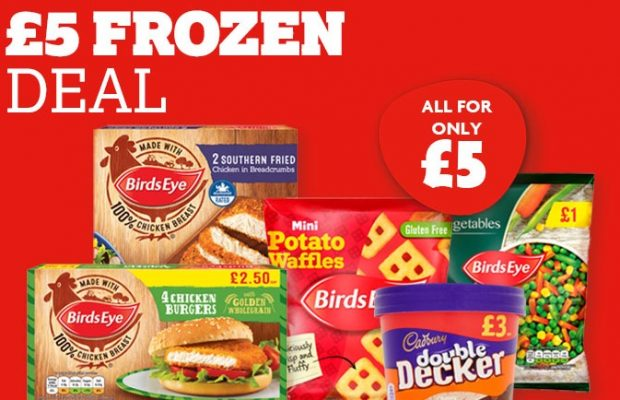 Nisa retailers offer shoppers five freezer favourites for a fiver