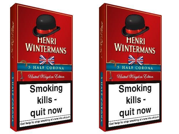 Henri Wintermans Half Corona cigars get new dressed up pack