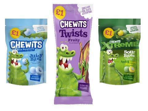 Four New Products from Chewits