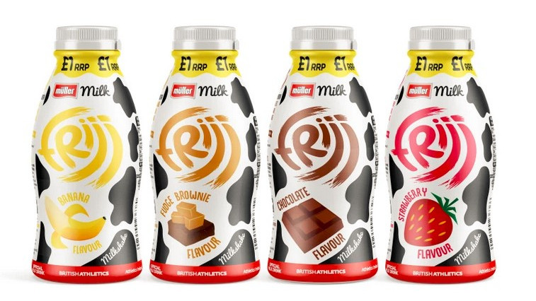 Müller to consolidate Frijj Brand