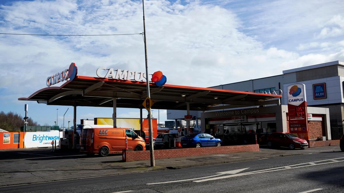 Nothern Ireland's LCC buys Campus Oil service stations