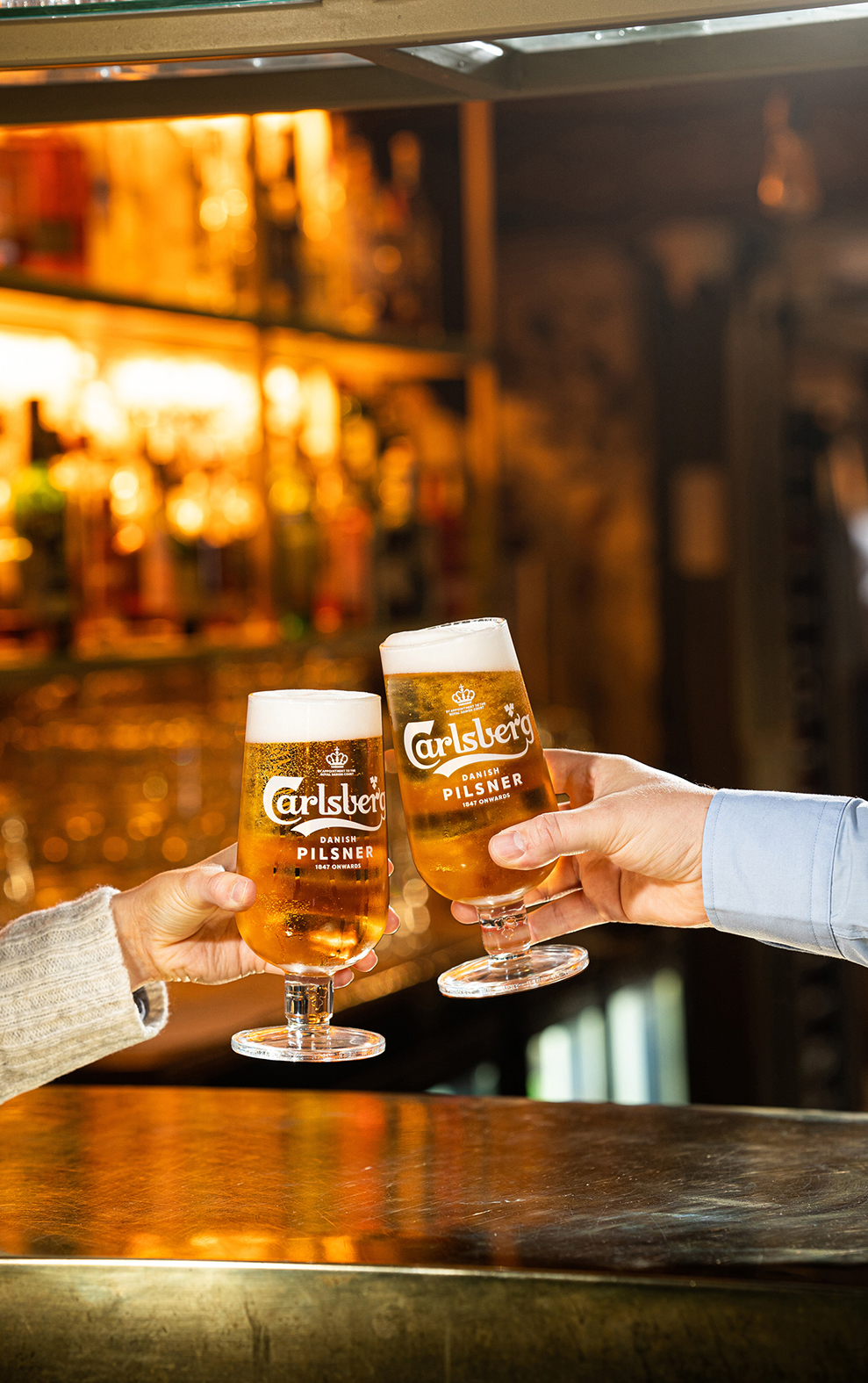 Cheers Carlsberg – Complementary Pints in a random act of kindness